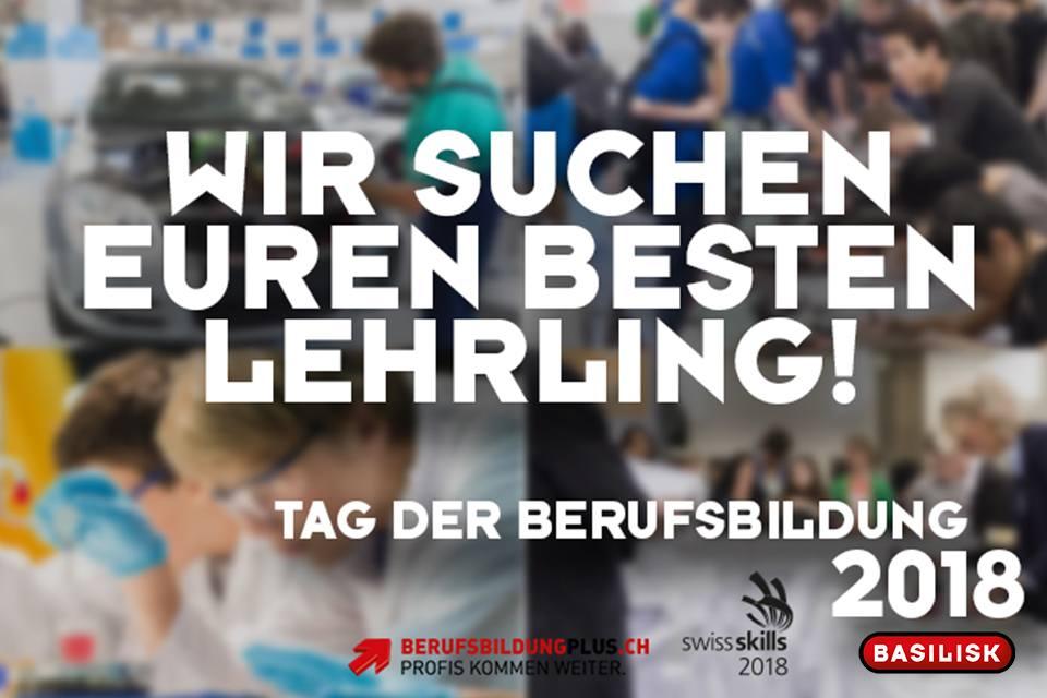 """Lehrling auf <a href=""""https://www.facebook.com/radiobasilisk/videos/10155986975833612/"""">Facebook </a>markieren und iTunes-Gutscheine im Wert von 30.- gewinnen"""