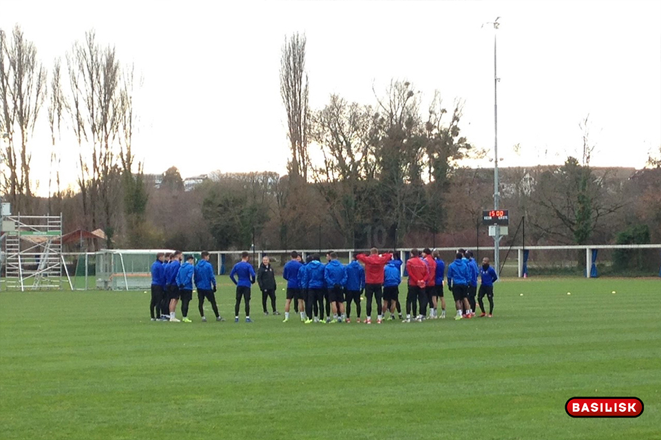 Die FCB-Spieler sind zurück.