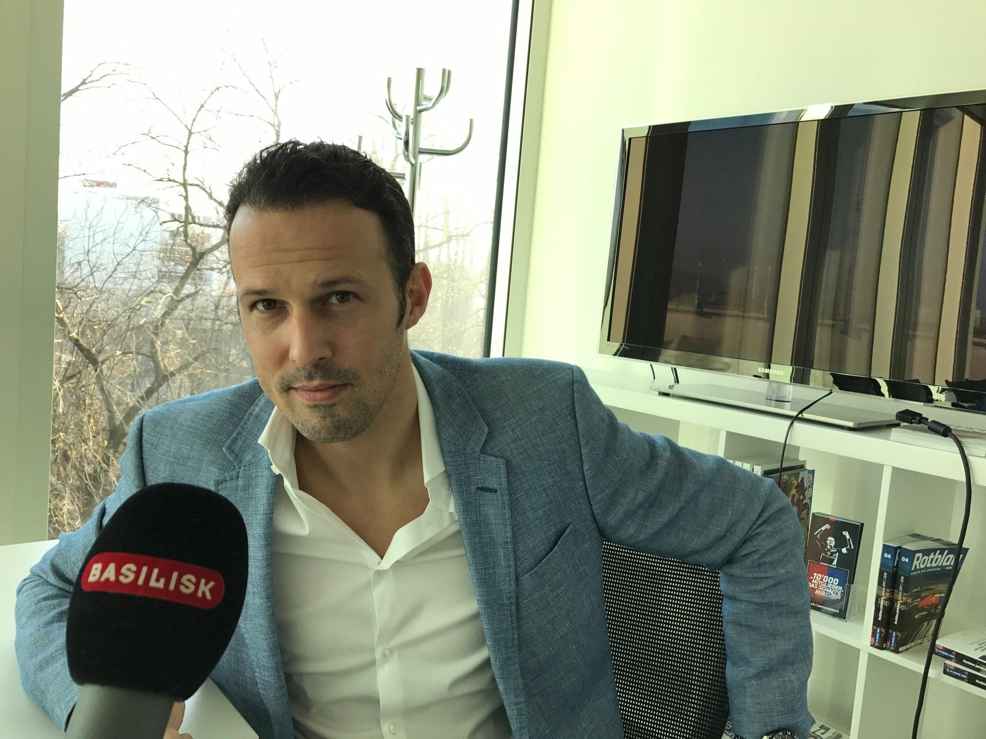 FCB-Sportchef Marco Streller im Interview mit Basilisk.