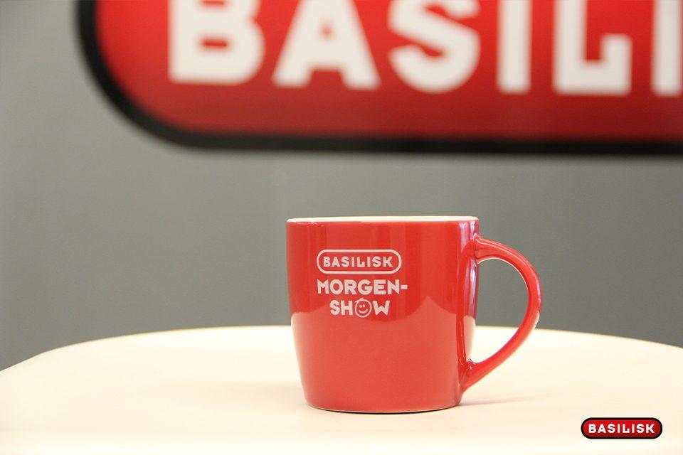 Wer will eine Morgenshow-Tasse?